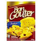 Biscoito Queijo Suíço Bon Gouter Caixa 100g