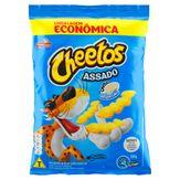 Salgadinho de Milho Cheetos Requeijão Elma Chips Pacote 280g Embalagem Econômica
