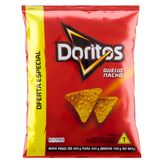 Salgadinho de Milho Doritos Queijo Nacho Elma Chips Pacote 300g