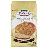 Farinha de Trigo Integral Famiglia Venturelli Pacote 1kg