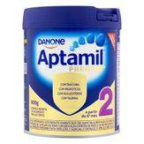 Fórmula Infantil para Lactentes Aptamil Premium 2 Danone Lata 800g