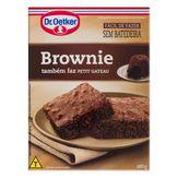 Mistura para Bolo Brownie Chocolate Dr. Oetker Caixa 480g