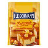 Mistura para Bolo Laranja Fleischmann Pacote 450g