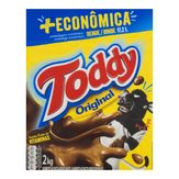 Achocolatado em Pó Original Toddy Caixa 2kg + Econômica