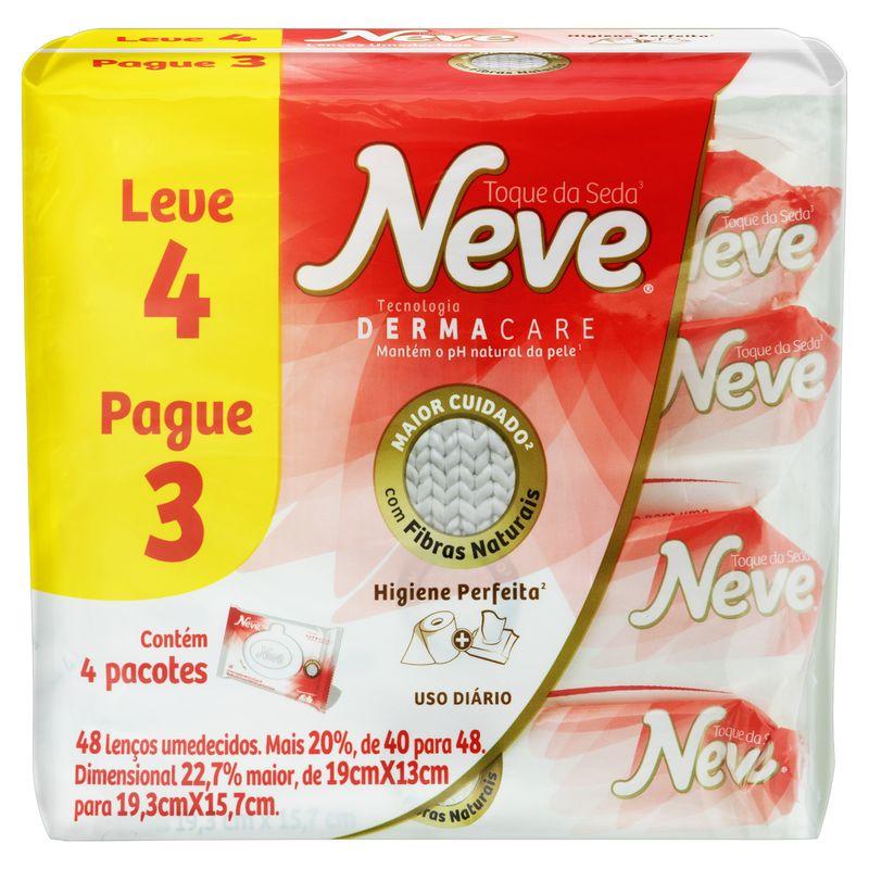 Pack-Lenco-Umedecido-Higienico-Neve-Toque-da-Seda-Pacote-Leve-4-Pague-3-Unidades