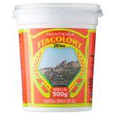 Manteiga Comum com Sal Itacolomy Pote 500g