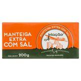 Manteiga Extra com Sal Aviação Tablete200g