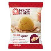 Pão de Queijo Congelado Lanche Forno de Minas Pacote 1kg