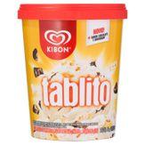 Sorvete Sabor Baunilha com Pedaços de Chocolate ao Leite e Chocolate Branco Tablito Kibon Pote 800ml