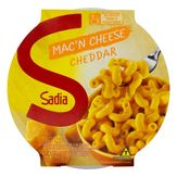 Mac 'n Cheese Cheddar Sadia Pote 350g