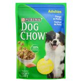 Alimento para Cães Adultos com Frango Purina Dog Chow Extra Life Sachê 100g