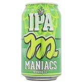 Cerveja IPA Puro Malte Maniacs Lata 350ml