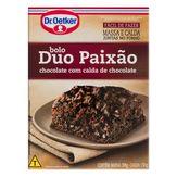 Mistura para Bolo Chocolate Duo Paixão Dr. Oetker Caixa 450g