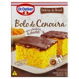 Mistura para Bolo Cenoura Cobertura de Chocolate Dr. Oetker Caixa 450g