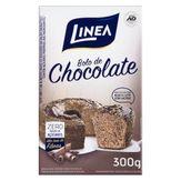 Mistura para Bolo Chocolate Diet Zero Lactose Linea Caixa 300g