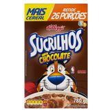 Cereal Matinal Chocolate Sucrilhos Caixa 780g
