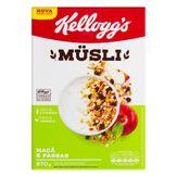Cereal Müsli Maçã e Passas Kellogg's Caixa 270g