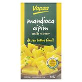 Mandioca Cozida no Vapor Vapz Caixa 500g com 2 Unidades