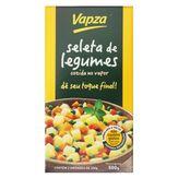 Seleta de Legumes Cozida no Vapor Vapz Caixa 500g com 2 Unidades