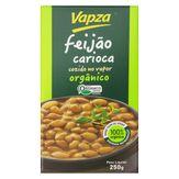 Feijão Carioca Cozido no Vapor Orgânico Vapz Caixa 250g