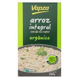 Arroz Integral Orgânico Cozido no Vapor Vapza Caixa 250g