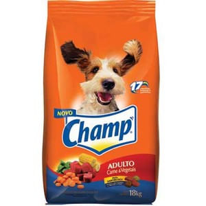 Alimento-para-Caes-Adultos-Carne---Cereal-Champ-Pacote-18kg