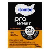 Bebida Láctea UHT Caramelo Zero Lactose Itambé Pro Whey Caixa 200ml