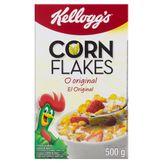 Cereal Matinal Kellogg's Corn Flakes Caixa 500g