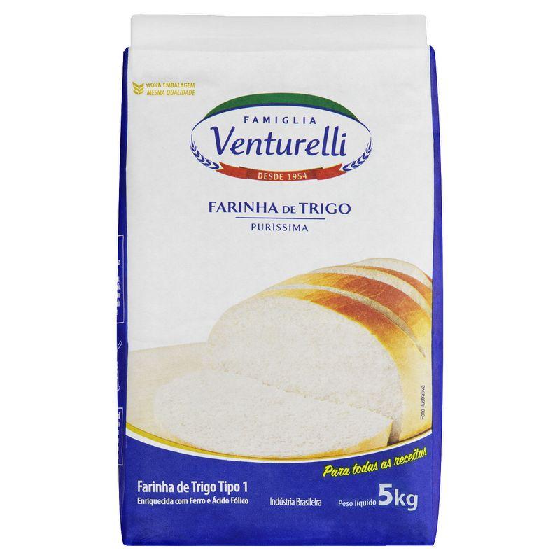 Farinha-de-Trigo-Tipo-1-Famiglia-Venturelli-Purissima-Pacote-5kg