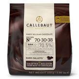 Gotas de Chocolate Meio Amargo 70,5% Cacau Callebaut Pacote 400g