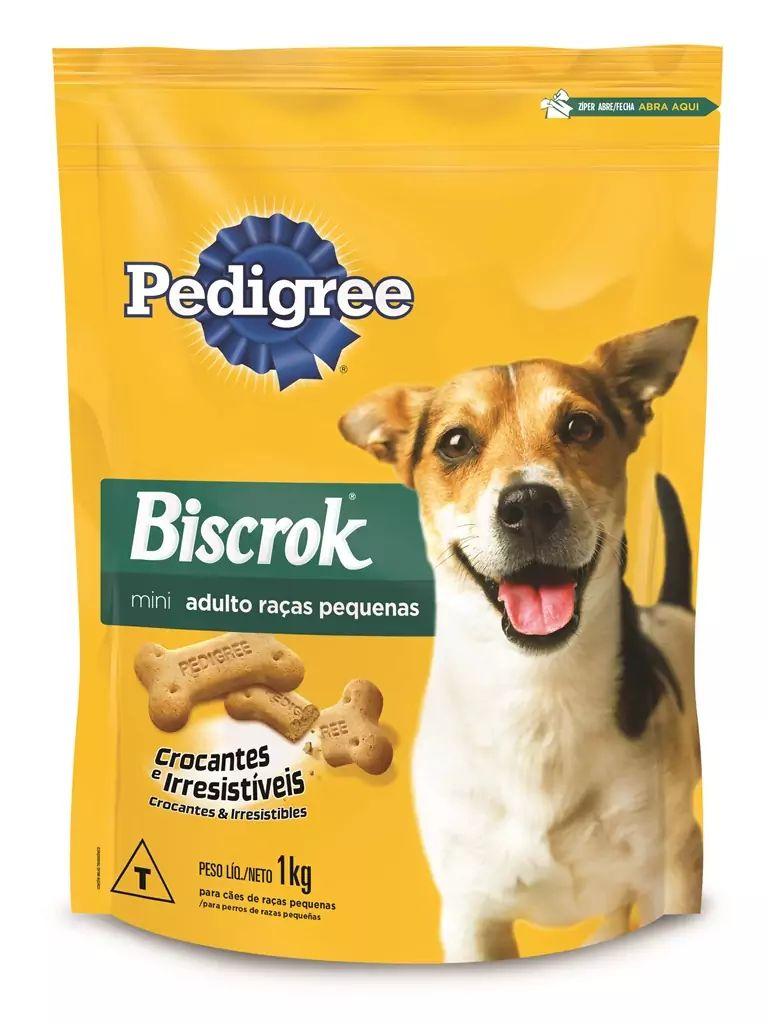 Petisco-para-Caes-Adultos-Racas-Pequenas-Pedigree-Biscrok-Pouch-1kg