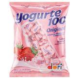 Bala Iogurte de Morango Original Yogurte 100 Pacote 600g