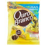 Bombom com Recheio de Chocolate e Cobertura de Chocolate Branco Lacta Ouro Branco Pacote 1kg