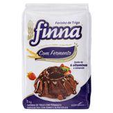 Farinha de Trigo com Fermento Finna Pacote 1kg