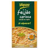 Feijão Carioca Pronto Vapz Caixa 280g