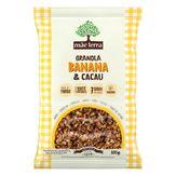 Granola Banana & Cacau Mãe Terra Pacote 800g