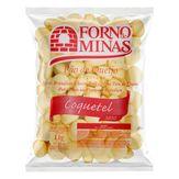 Mini Pão de Queijo Congelado Coquetel Forno de Minas Pacote 1kg