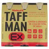 Bebida à Base de Vitaminas Yakult Taffman EX Caixa 110ml com 6 Unidades