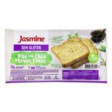 Pão Chia e Ervas Finas sem Glúten Jasmine Pacote 350g