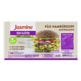 Pão para Hambúrguer Australiano sem Glúten Jasmine Pacote 300g