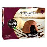 Petit Gâteau Congelado Chocolate Mr. Bey Caixa com 12 Unidades