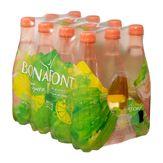 Água Saborizada com Gás Lemon Bonafont Pack 12 Unidades 500ml Cada