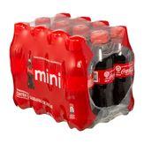 Refrigerante Coca Cola Pack com 12 Garrafas 200ml Cada