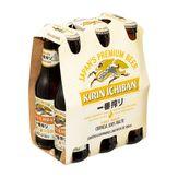 Cerveja Lager Premium Kirin Ichiban Garrafa Pack 6 Unidades 355ml Cada