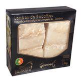 Lombo de Bacalhau Gourmet Bom Porto Caixa 1kg