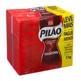 Café Pilão Tradicional Pack com 4 Unidades 500g Cada
