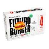 Hamburguer de Carne Futuro Burger Fazenda Futuro Pack com 4 Unidades 115g Cada