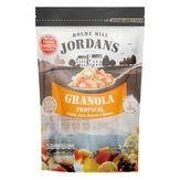 Granola Tropical Papaia, Coco, Abacaxi, Banana e Mel Jordans Pacote 400g