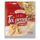 Pão Tortilha Original Wickbold Tá Pronto! Pouch 270g