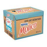 Leite Desnatado Molico Nestlé Pack 12 Unidades 1l cada